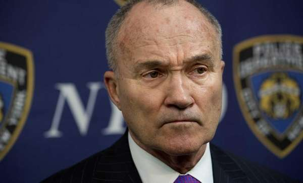 Former NYPD Commissioner Ray Kelly addresses a news