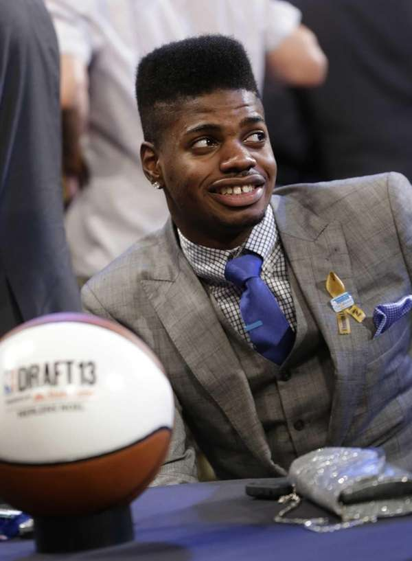 Kentucky's Nerlens Noel waits for the first round