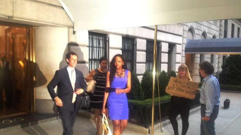 Anthony Weiner, a Democratic frontrunner for New York