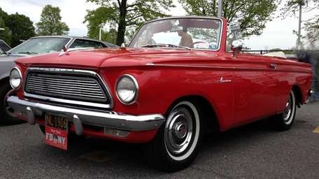 This 1961 Rambler American 400 convertible is owned