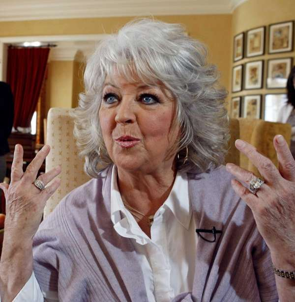 Paula Deen speaks in Pasadena, Calif. (Dec. 30,
