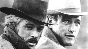 "Paul Newman and Robert Redford in ""Butch Cassidy"