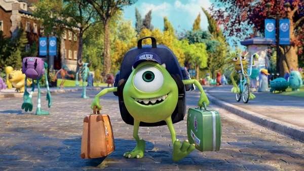 "Mike Wazowski has arrived -- and ""Monsters University"""