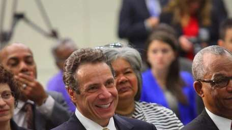 New York Governor Andrew Cuomo discusses Start-Up NY
