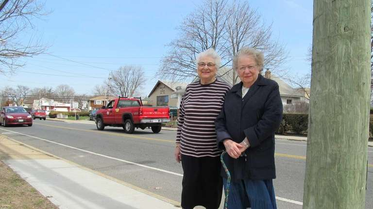 Eleanor Frankel and Marilyn Weissman are seeking a