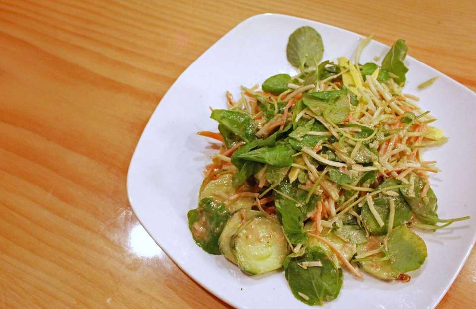 Bareburger also features a compelling roster of salads,