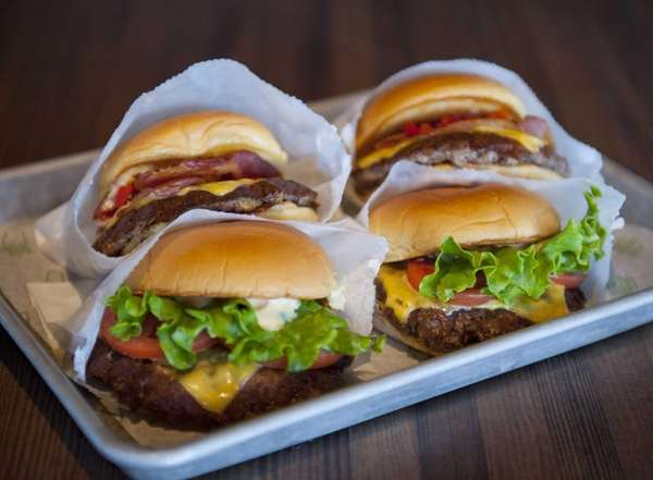 Shake Shack's ShackBurger, with cheese and Shack sauce,