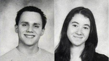 Left: Ray Vega, 18, of Huntington Station, seen