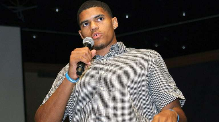 NBA player and Long Island product Tobias Harris