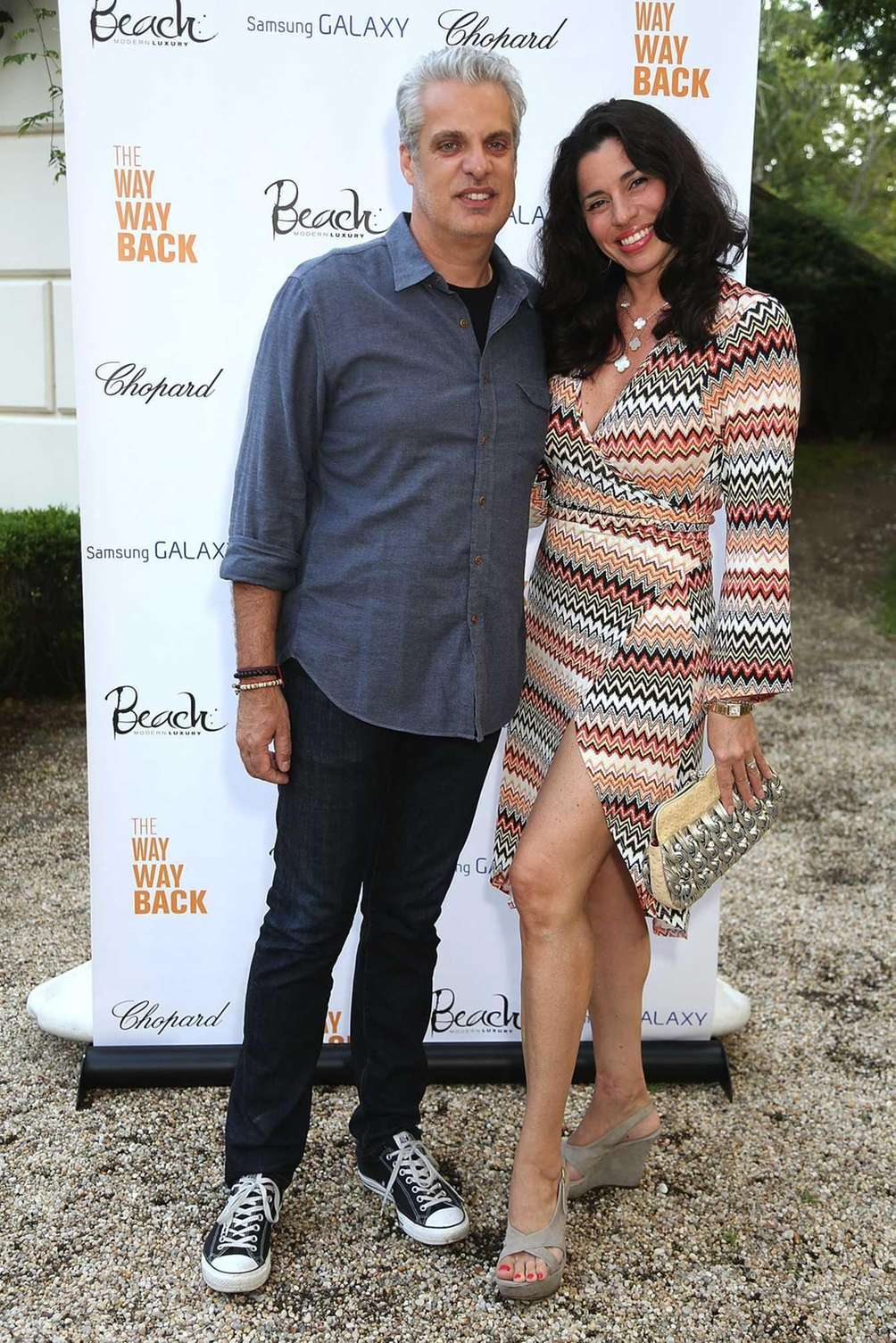 Eric Ripert and wife, Sandra, attend the after-party