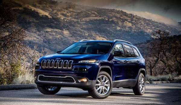 The 2014 Jeep Cherokee features a bold new