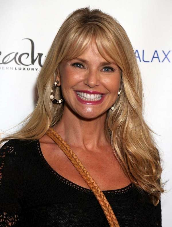 Christie Brinkley attends the after-party for a special