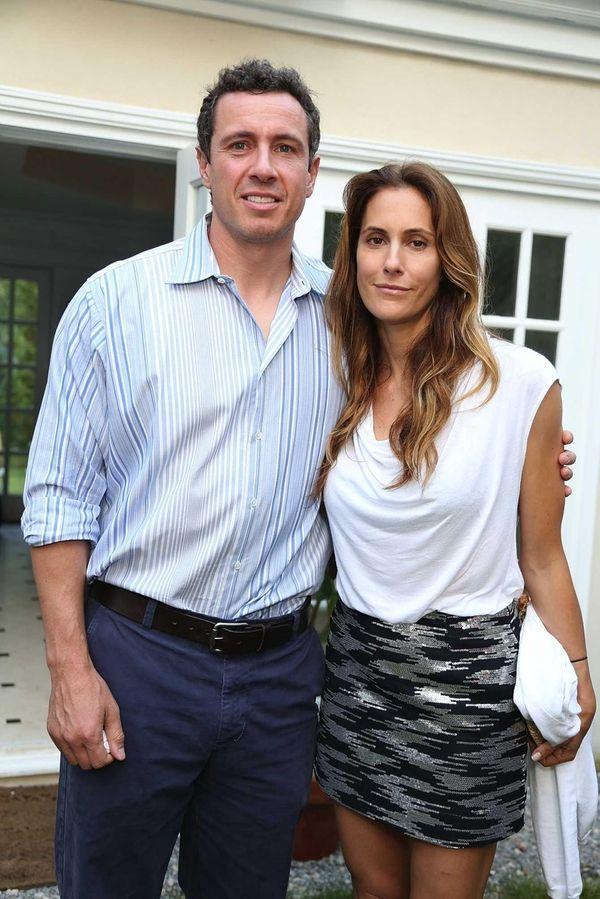 Chris Cuomo and Cristina Greeven Cuomo attend the