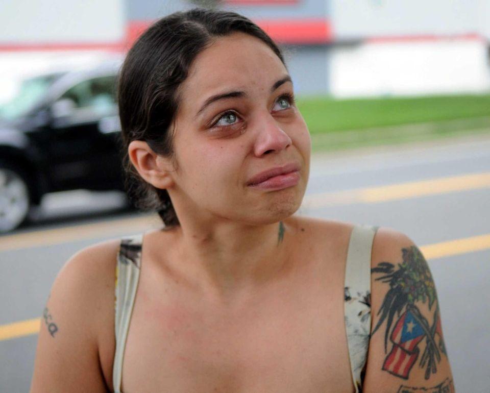 Jennifer Gotay, 25, sister of victim Carmen Rivera-Gotay,