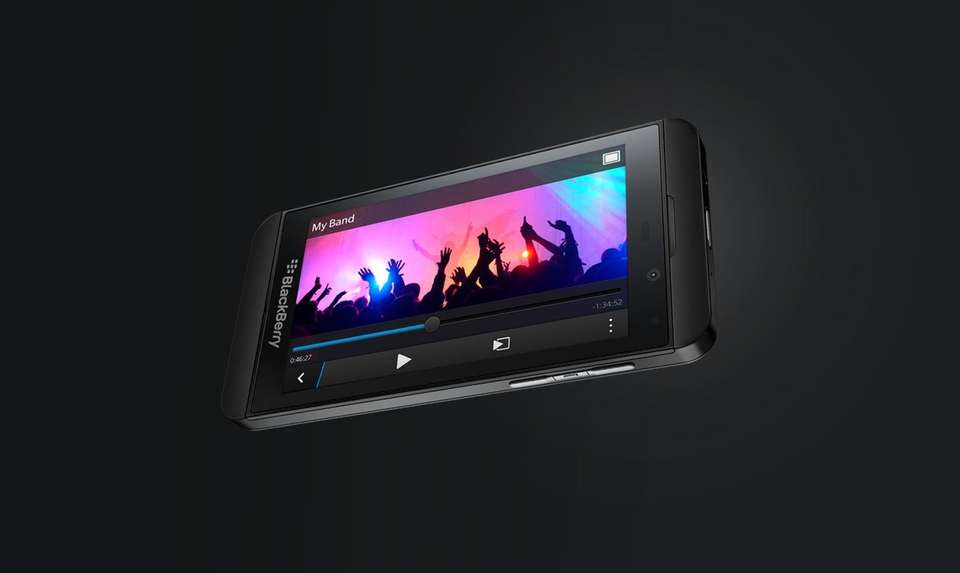 The Blackberry Z10 is the company's answer to