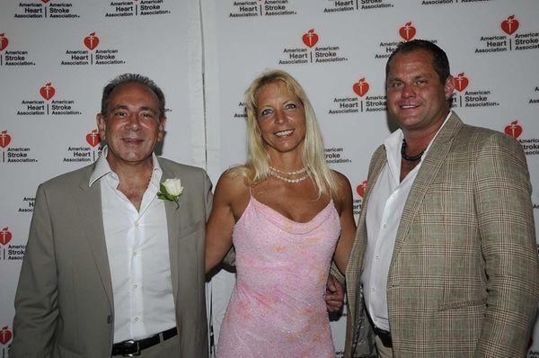 From left to right: Dr. Juan Gargiulo, Laura