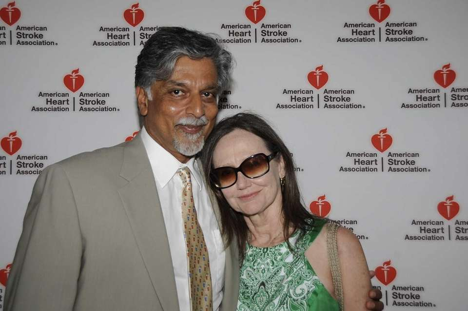 Dr. Anil and Kathleen Dhundale attend the 17th