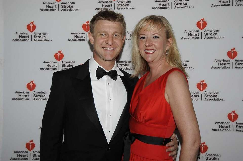 Andrew Hall and Diane Lonughlin attend the 17th