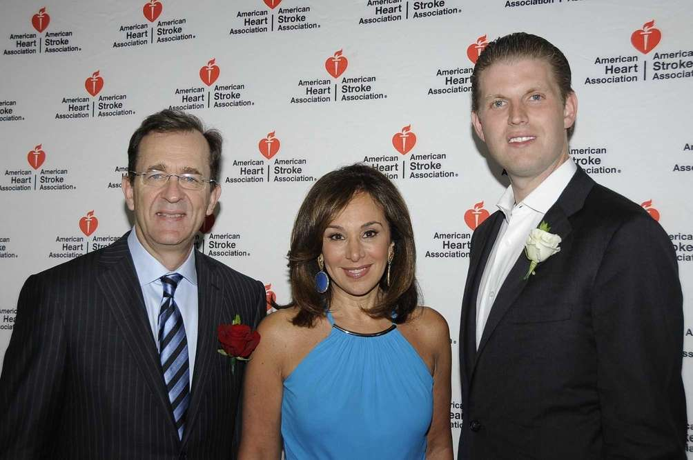 Dr. James Taylor, Rosanna Scotto and Eric Trump