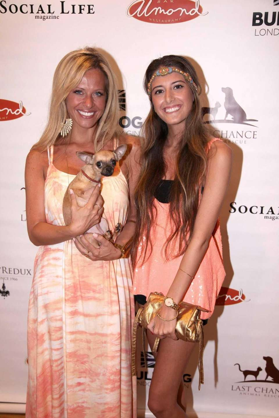 Dina Manzo, her dog Gracie, and Lexi Manzo
