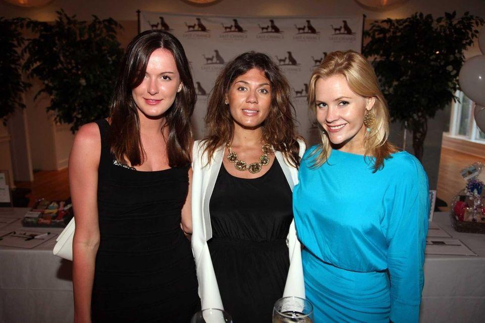 Lucy Demery, Elina Khasina and Natalie Mackey attend