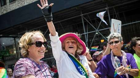 Edie Windsor, who successfully sued the United States