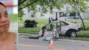 Left, Jennifer Gotay, 25, sister of crash victim