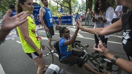 Boston bombings survivor Mery Daniel after the 11th