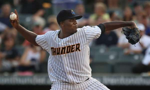 Michael Pineda, who is on a rehab assignment