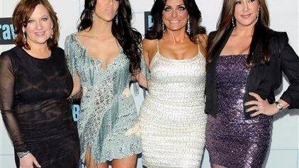 From left, Caroline Manzo, Melissa Gorga, Kathy Wakile