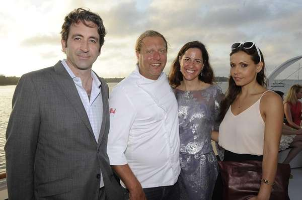 Guests celebrate the Benefit for the Bays event
