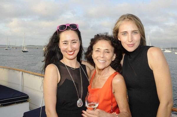 Katarina Maloney, Baroness Sheri De Borchgraves and Loie