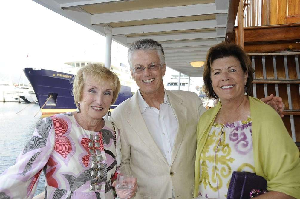 Dorothy Doughty, John Doughty and Pat Di Cerbo