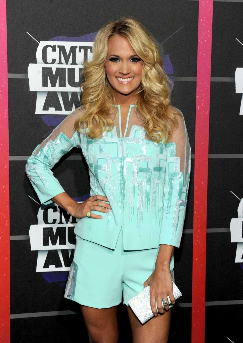 Country music star Carrie Underwood's popularity grew after