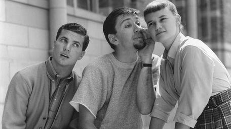 From left, Dwayne Hickman, Bob Denver, Sheila James
