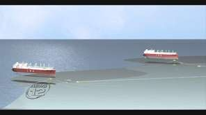 The plan would put an underwater liquefied natural