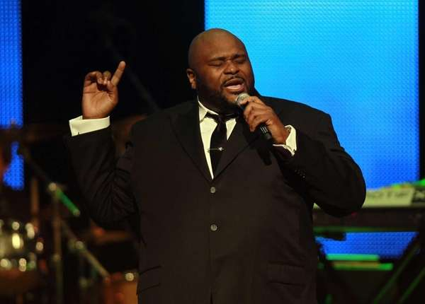 Former American Idol contestant Ruben Studdard performs during