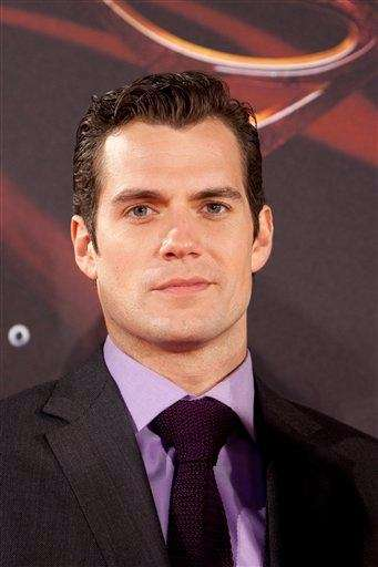 Actor Henry Cavill attends the Spanish premiere of