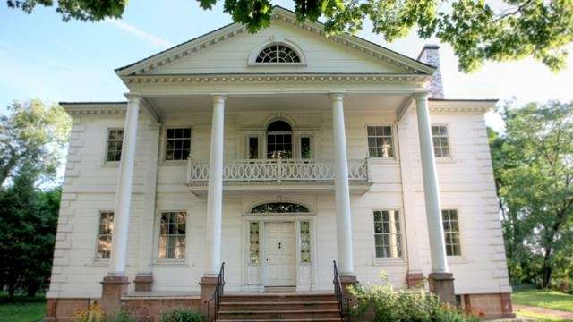 Morris-Jumel Mansion served as George Washington's headquarters during