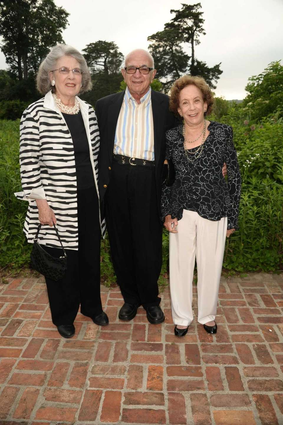 Ellen Marcus, Jim Marcus, and Barabara Slifka attend
