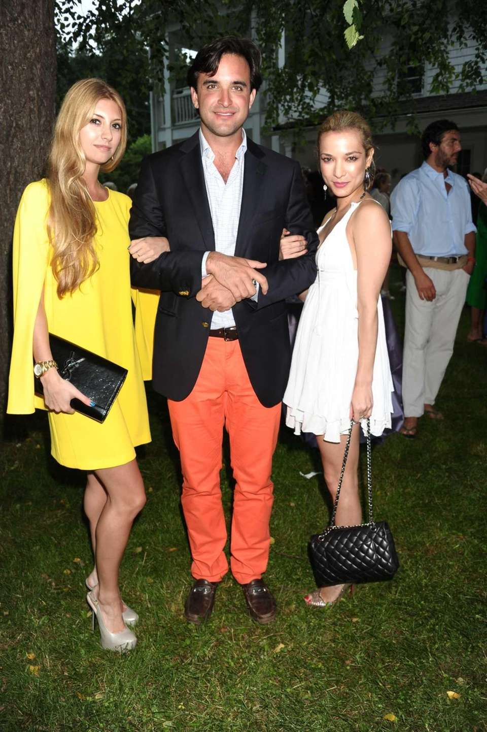Gabrielle Giacalone, Chris Edson, and Lara Platt attend