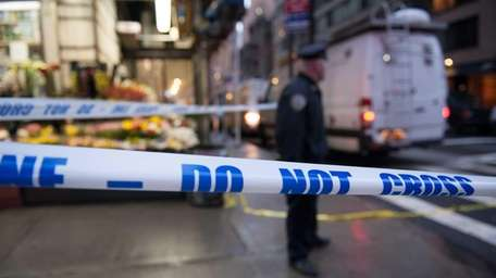 Homicides in New York City are dropping to