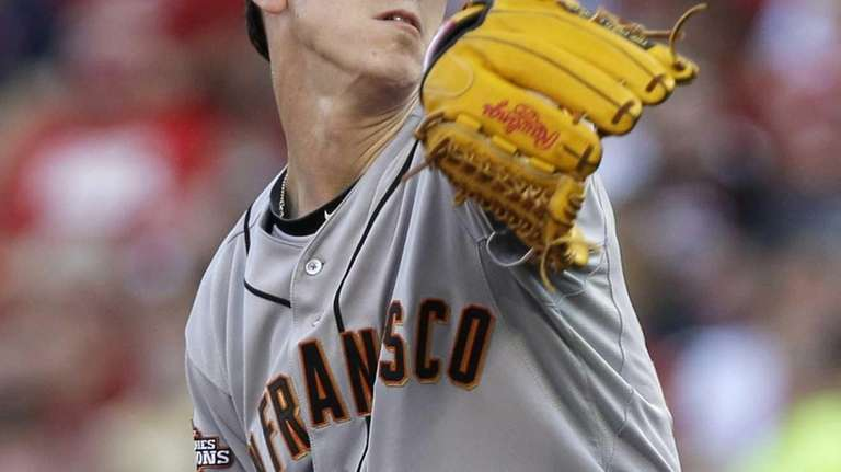 San Francisco Giants starting pitcher Tim Lincecum. (July