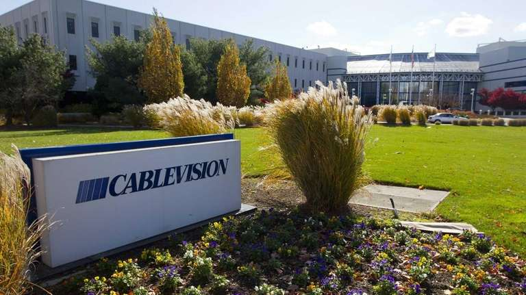 Cablevision Systems Corp. headquarters in Bethpage. The U.S.