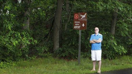 Ray Keenan, president of Manor Park Civic Association