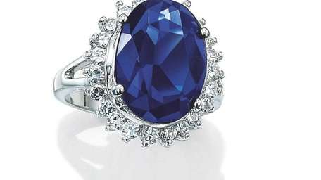 Avon's copy of the famous royal engagement ring,