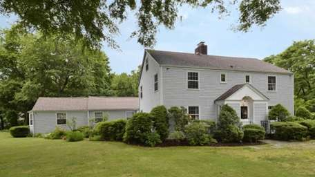 This five-bedroom Colonial in Stony Brook, built in