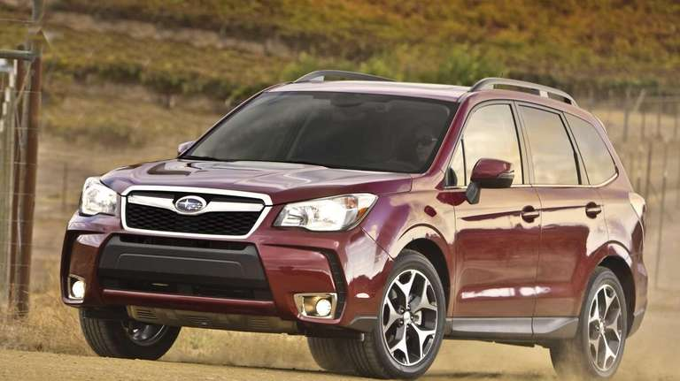 The 2014 Subaru Forester starts at $21,995 for