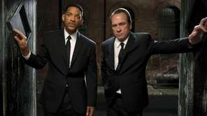 """Men in Black 3,"" starring Will Smith and"