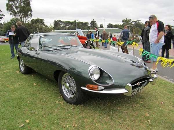 """The 1967 Jaguar XK-E Series was called """"the"""